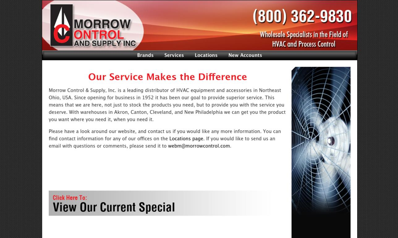 Morrow Control & Supply, Inc.