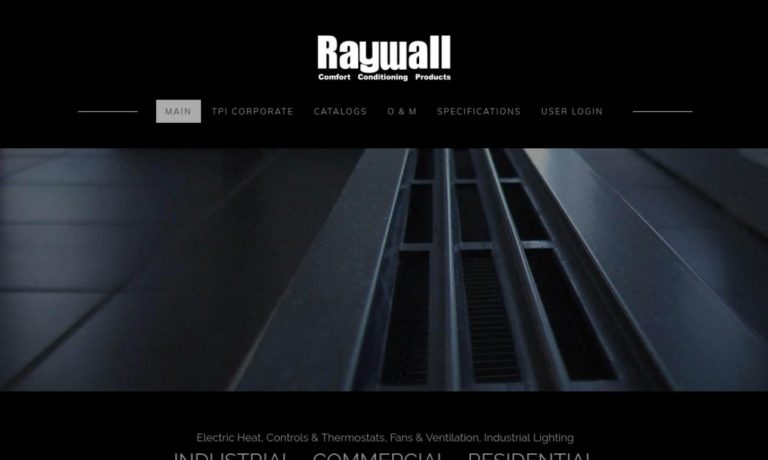 Raywall Comfort Conditioning Products