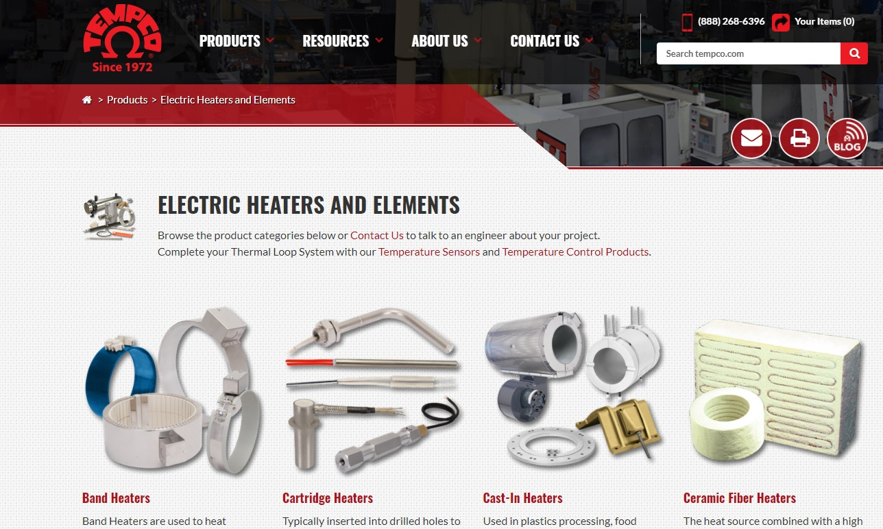 TEMPCO Electric Heater Corporation